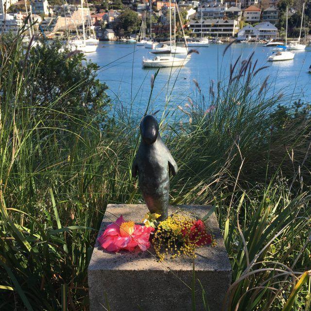Dugong Sculpture Lavender Bay Sydney