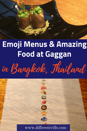 With armfuls of awards, Gaggan in Bangkok is a once in a lifetime experience - here's why we loved it. #gaggan #bangkok #wheretoeatingaggan