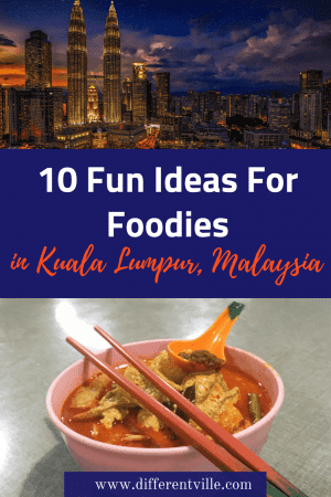 Kuala Lumpur in Malaysia is a great destination for foodies - but if you're looking for some slightly more unusual ideas of what and where to eat in Kuala Lumpur, this is the post for you. There's whipped cream noodles, the best banana fritters and a game of dumpling pick and mix. #kualalumpur #whattoeatinkualalumpur #malaysianfood