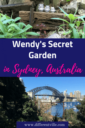 If you're looking for a place to get away from it all in Sydney, Wendy's Secret Garden is where to go. It's a real Sydney secret with shady paths and amazing Sydney views. #wendyssecretgarden #sydneyparks #thingstodoinsydney