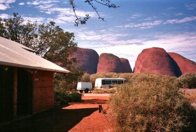 One of Australia's most unusual toilets at Kuta Tjata