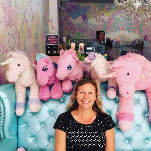 The Unicorn Cafe in Bangkok is a riot of pastels and plushies!