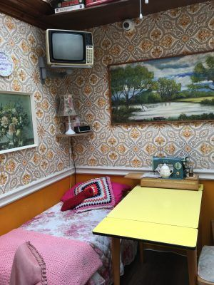 Edith's House Cafe in Crouch End is decorated like your nan's house in the 1970s. It's a brilliant hidden London secret