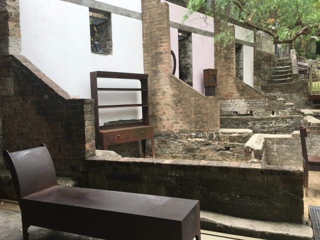 Foundation Park, The Rocks is a secret park in Sydney. Hidden behind a busy tourist filled street Foundation Park Sydney is the remains of eight tiny terraced houses. Here's how to find it.