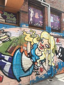 Checking out Perth's amazing street art scene is one of the top things to do in Perth. It really is impressive.
