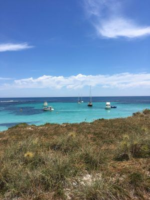 View from Rottnest Island, Near Perth