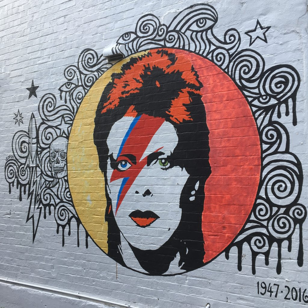 There's a David Bowie Mural in Paddington Sydney, and it's not the only link to the star in the town. Here's a few other stops Bowie fans might like to make.
