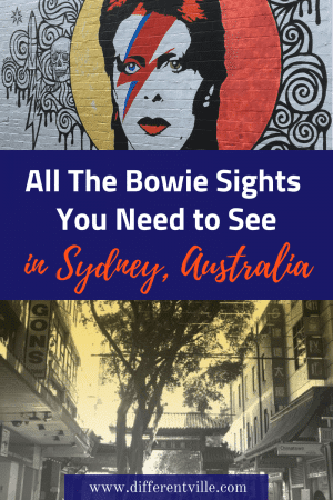 If you're travelling to Sydney - and love David Bowie, there's a few things here you might want to check out. From the mural commemorating his life to the locations of some famous videos - and the pub he used to drink in. Check out our Bowie Guide to Sydney. #davidbowie #sydney #quirkysydney