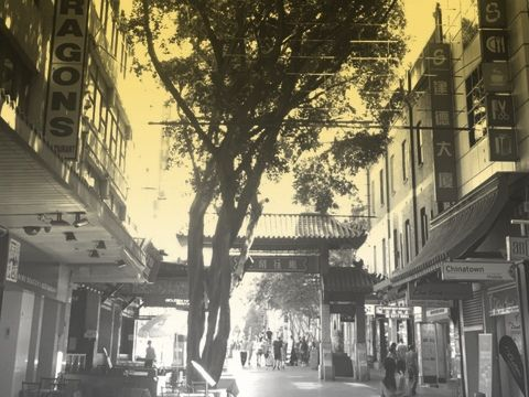 The China Girl video by David Bowie was shot in Dixon Street Sydney