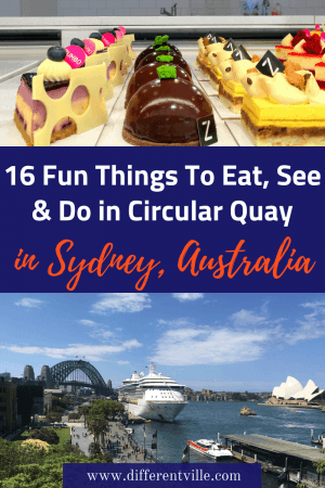 If you're coming to Sydney, you're going to end up in Circular Quay at some point. At first glance you might wander what to do there (other than see the Opera House) - the answer is a lot. Check out our locals guide to the more quirky things to do in Circular Quay. #sydney #thingstodoincircular quay #thingstodoinsydney
