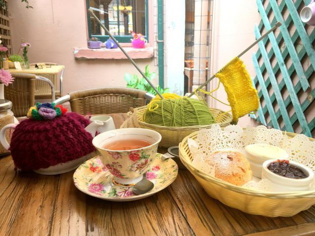 The Tea Cosy Cafe in Sydney's The Rocks serves a great cream tea - and it also has a resident ghost.