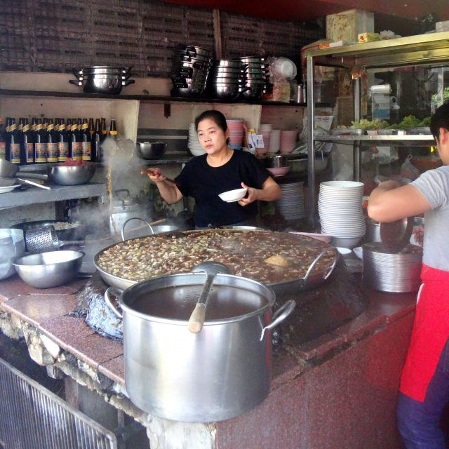 Bangkok's best beef brisket noodles are rumoured to come from Wattana Panich in Ekkamai. they are also a great budget eat making this one of the best cheap restaurants in Bangkok.