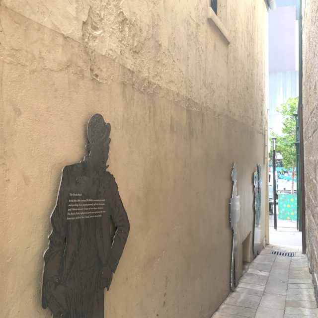 Wandering the laneways is one of the best things to do in The Rocks, Sydney. You never know what you might stumble upon.