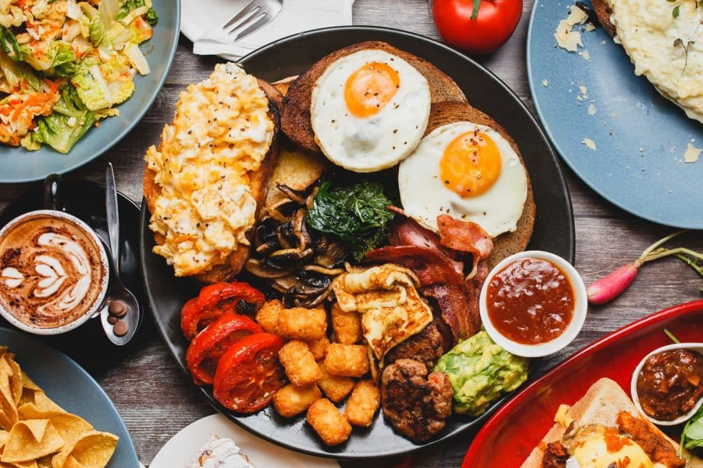 huge breakfast from the Coffylosophy cafe - one of the fun things to do in Adelaide