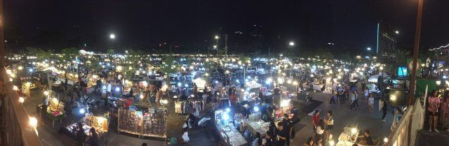 If you're looking for something different to do in Bangkok at night, visit one of the vintage night markets