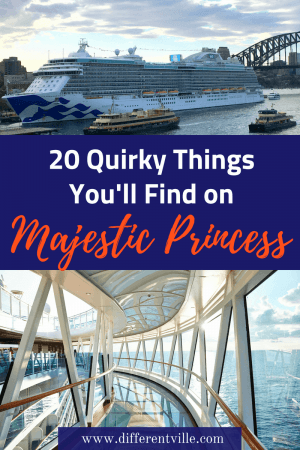 Heading for a cruise on the Majestic Princess? We've found 20 cool things - big and small that you shouldn't miss on board. Click to read it now or save it to one of our cruise boards for later. #cruising #cruiseships #MajesticPrincess #PrincessCruises