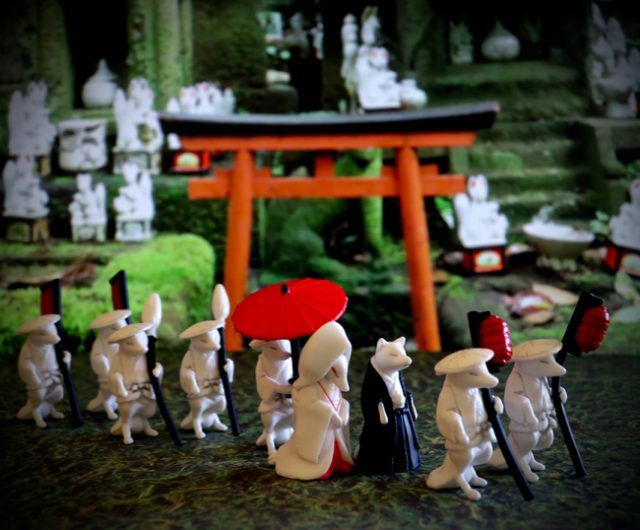 The Gachapon Fox Wedding collection