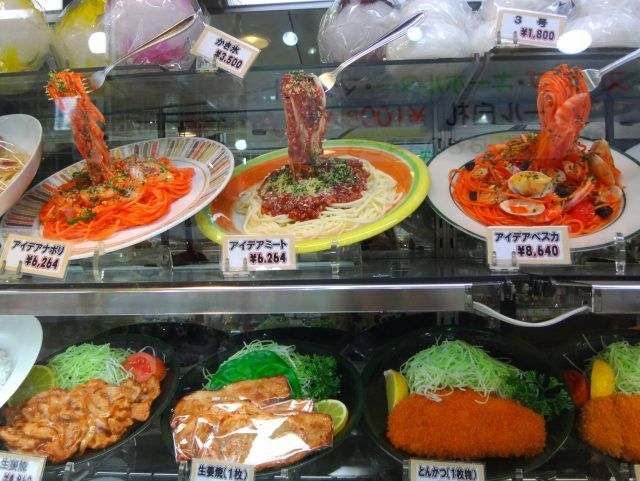 Visiting Kappabash, the street in plastic food, in Asakusa is one of the most fun things to do in Tokyo