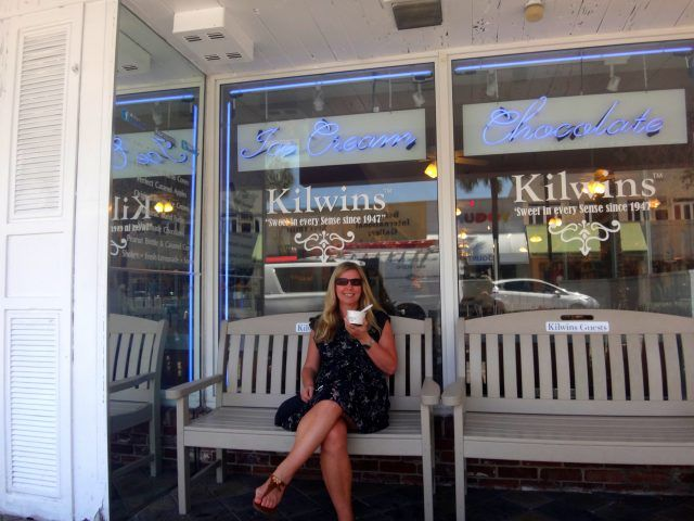 Kilwins Ice Cream is reportedly the best in Fort Lauderdale