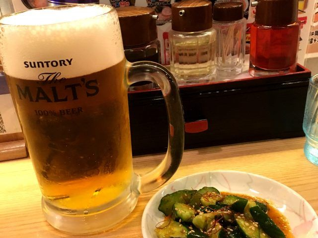They do like to serve beer with a lot of froth in Japan.