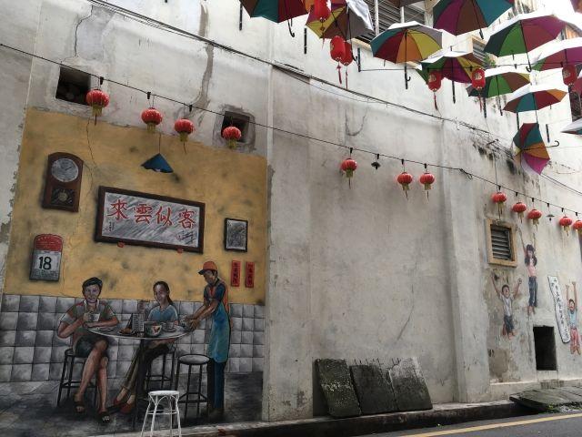 mural in Ipoh