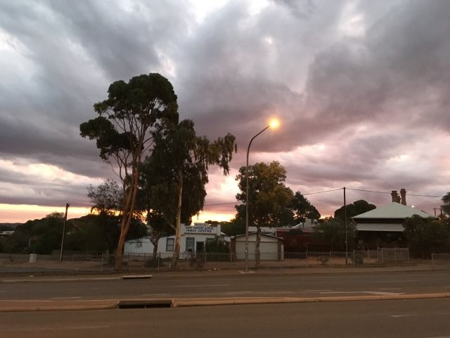 Sunset in Port Augusta