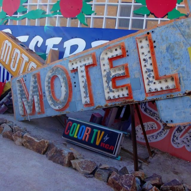 Motel signs at the Neon Boneyard, Las Vegas