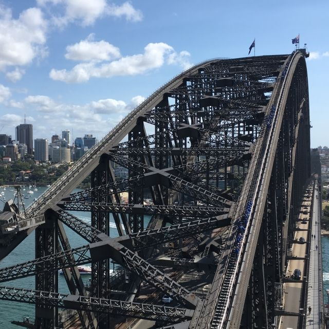 The Pylon Lookout on Sydney Harbour Bridge
