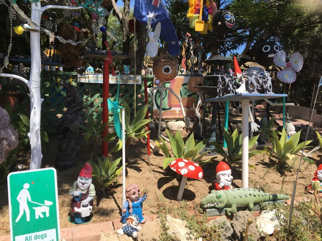 The Secret Gnome Garden near Cottesloe, Perth