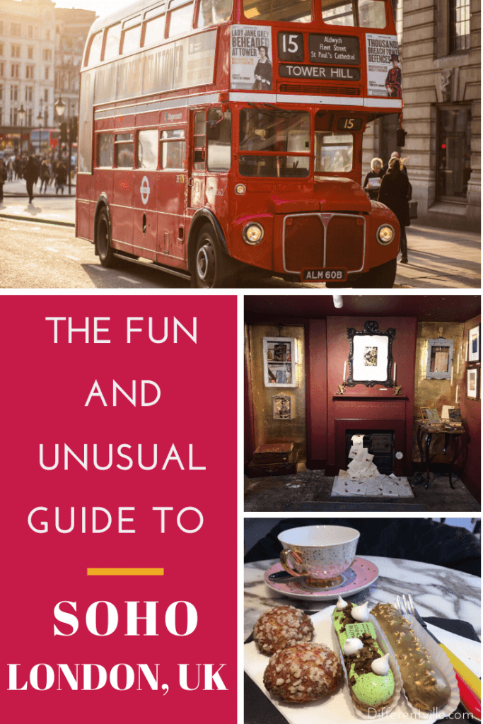 Pin for Unusual Things to do in London