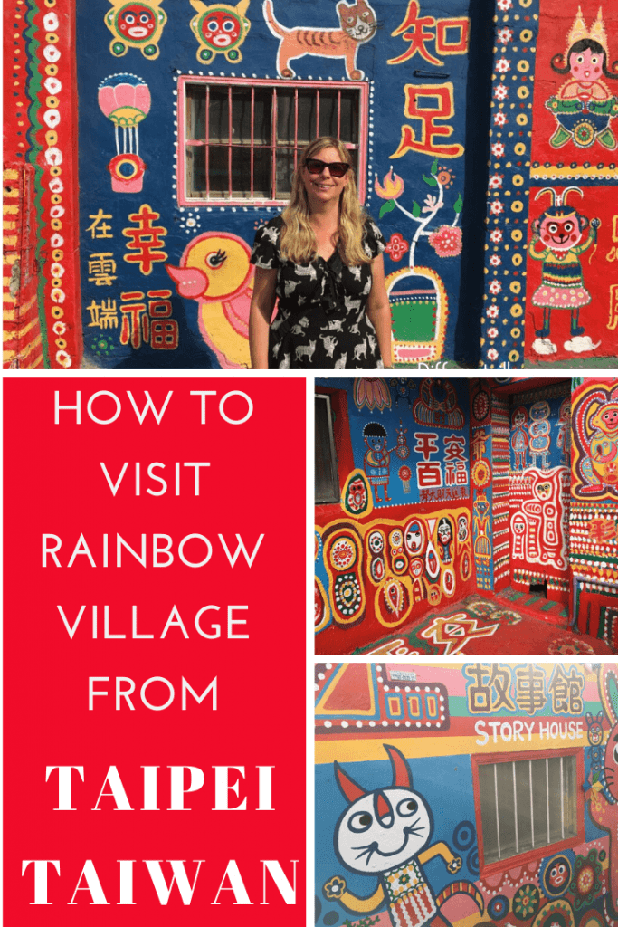 pin on how to get to Rainbow Village Taichung from Taipei
