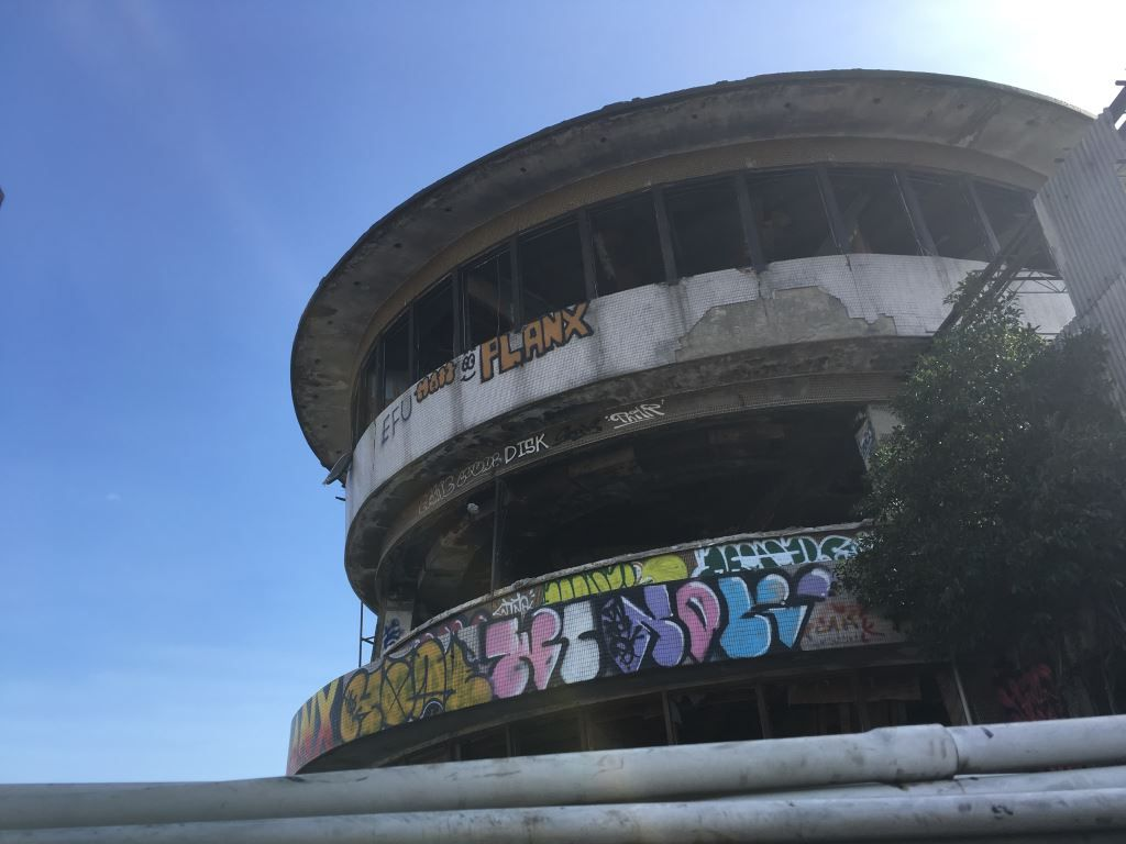 Abandoned building full of art Taichung