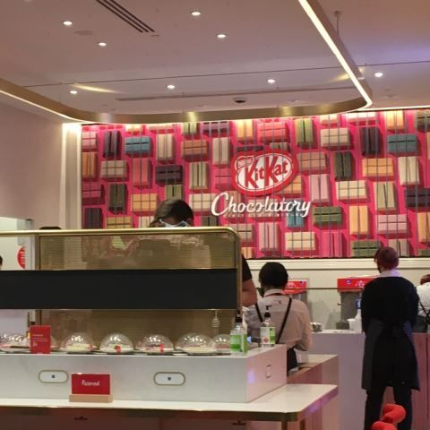 inside the KitKat Chocolatory Sydney