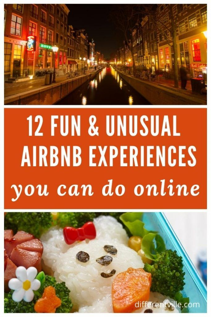 pin on the best Airbnb online experiences