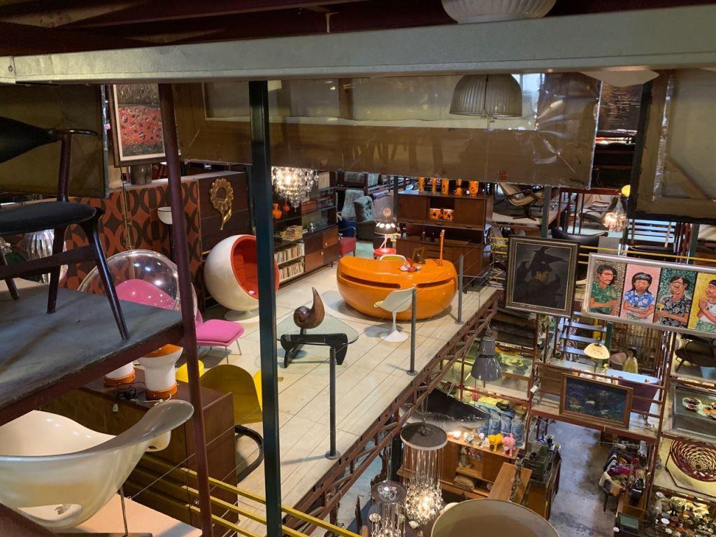 Inside the Papaya store Bangkok