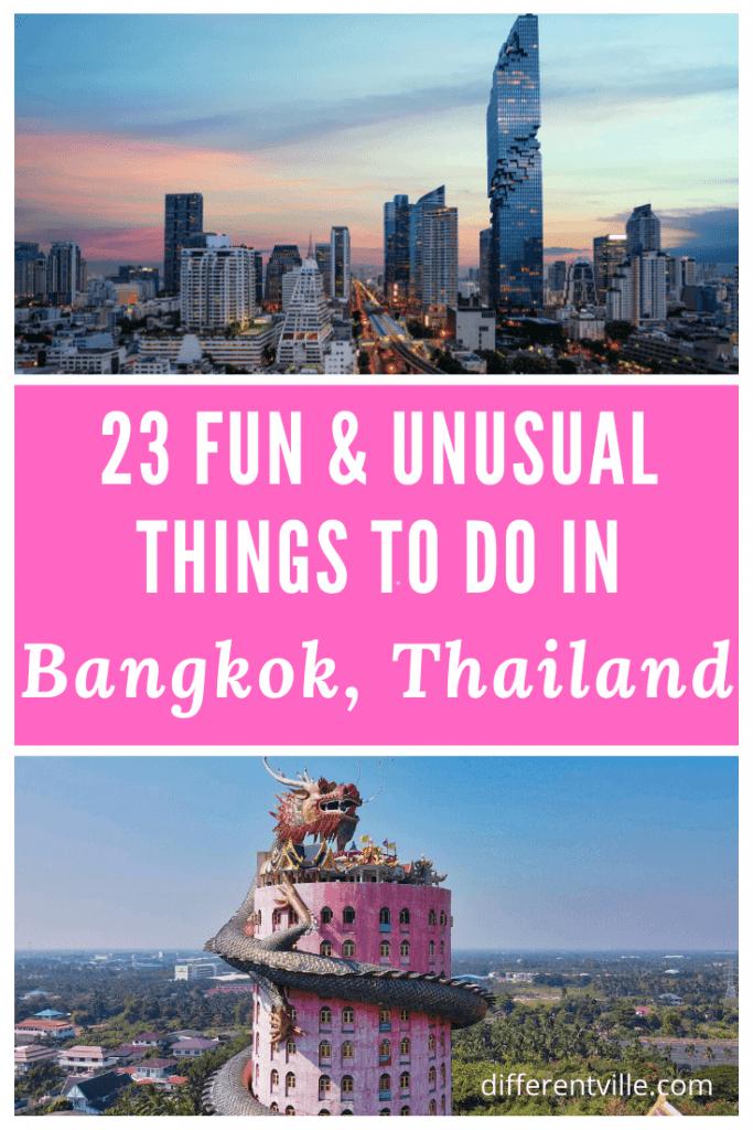 pin image unusual things to do in Bangkok
