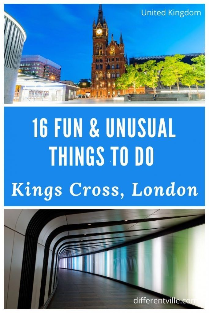 Pin on Quirky Things to See and Do in Kings Cross