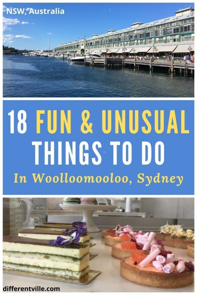 pin on fun and unusual things to do in Woolloomooloo Sydney
