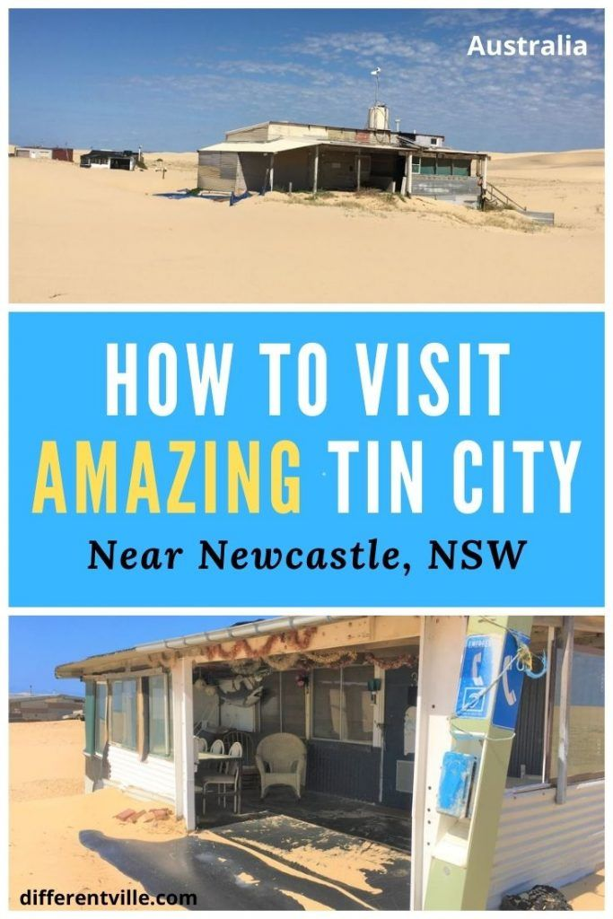 pin on Tin City, Stockton Beach NSW and Tin City tours