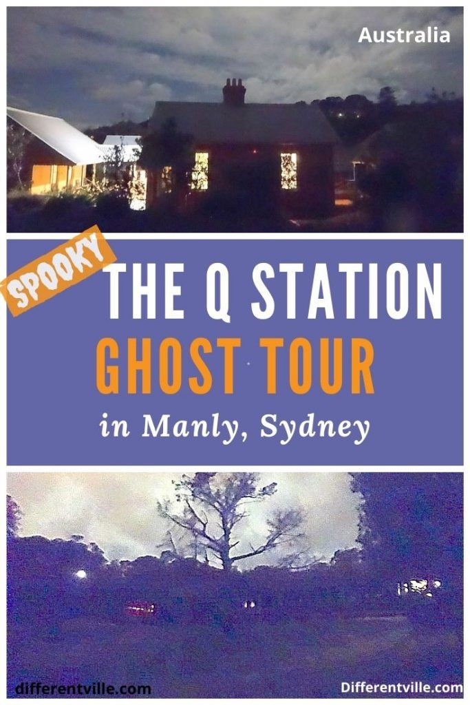 pin for q station ghost tours