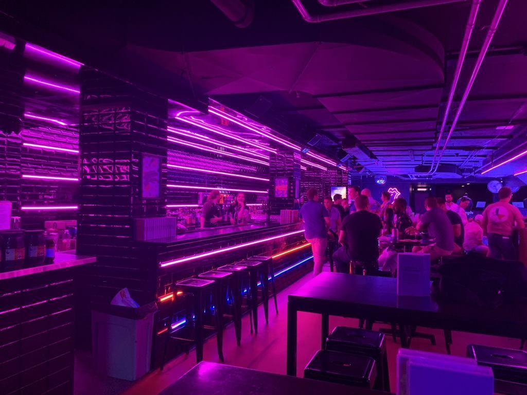 inside 88mph bar in canberra