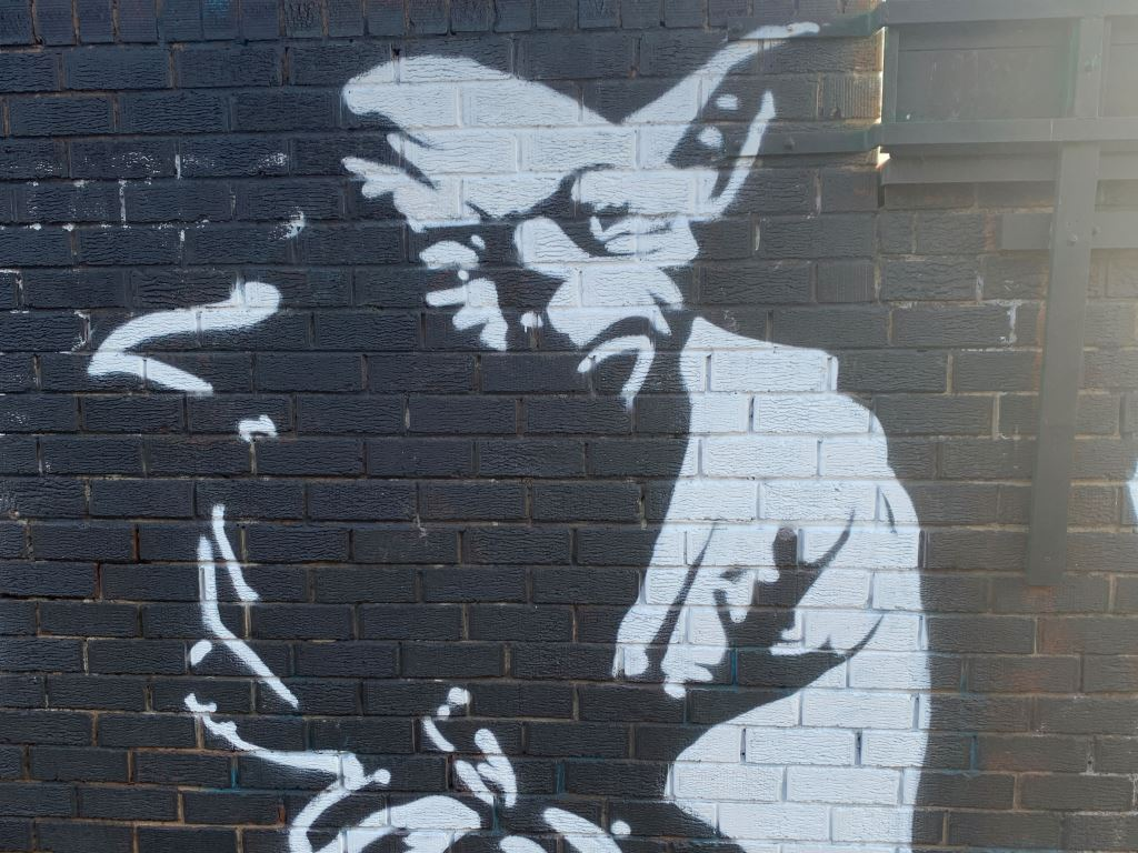 mural of yoda in Marrickville Sydney