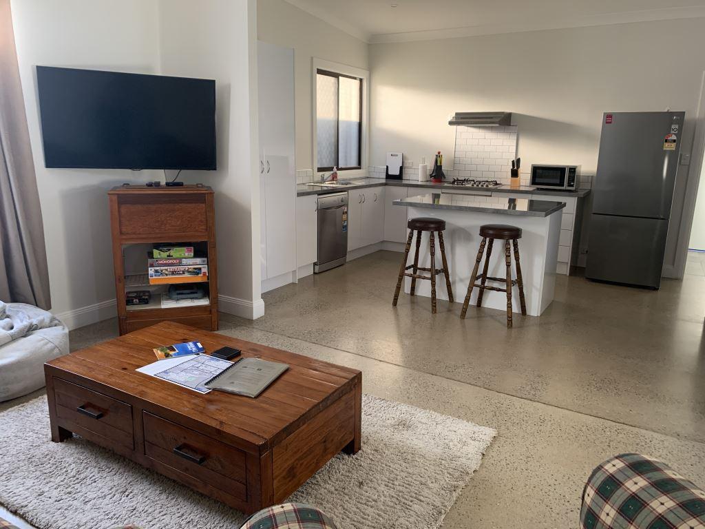 lounge and kitchen at Iada on Iodide
